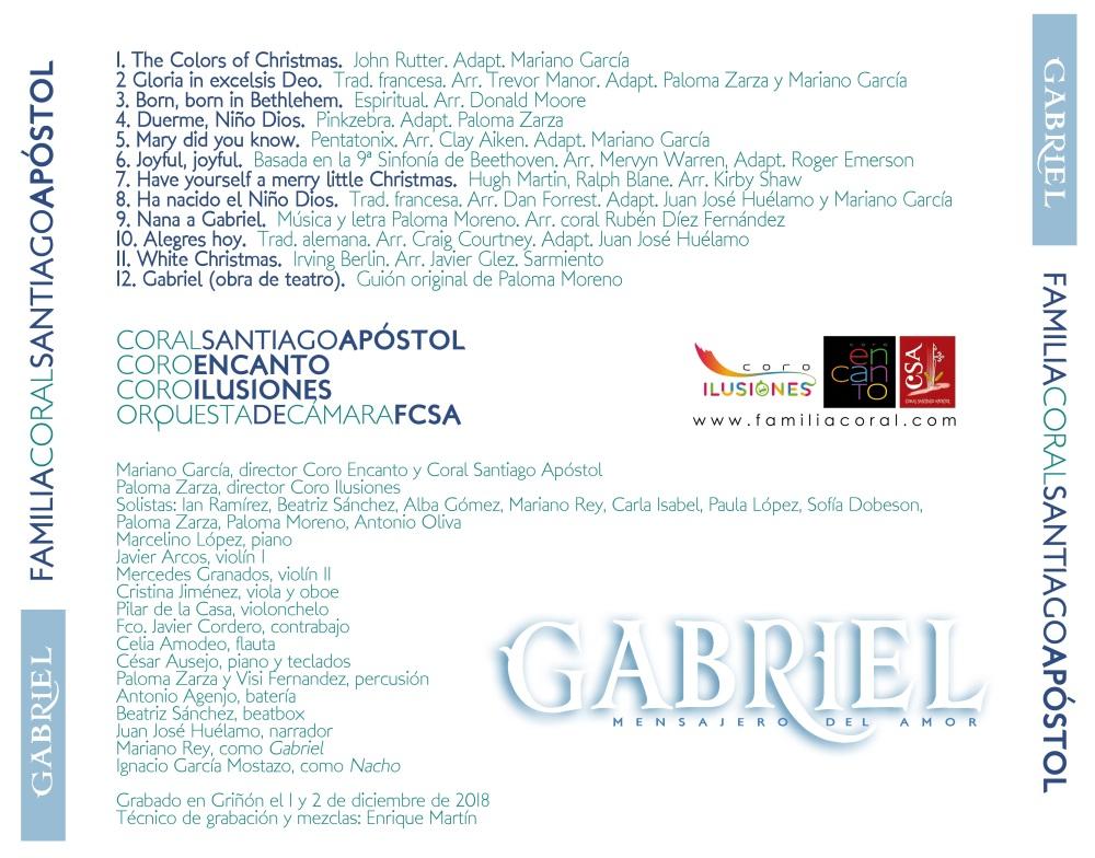 CD GABRIEL trasera caja